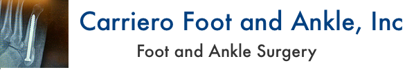 Carriero Foot and Ankle – Dr Keenan Carriero, DPM